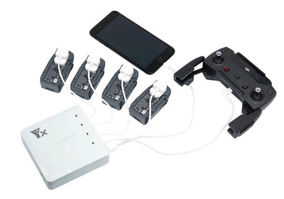 Spark 6-in-1 Charging Hub (Charges All Simultaneously)