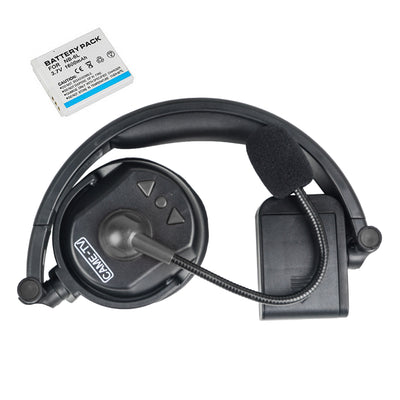 CAME-TV WAERO Duplex Digital Wireless Foldable Headset