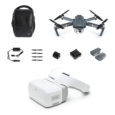 Mavic Pro Fly More Combo + DJI Goggles Package