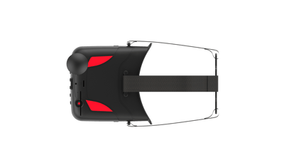 VR D2 FPV Goggles with DVR and Adjustable Lens