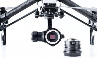 Zenmuse X5 Camera and Gimbal (Without Lens) - OmniView Tech  - 3