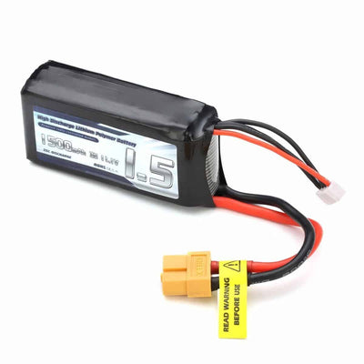Drone Accessories - 1500mAh 3S 11.1V 25C LiPo Battery