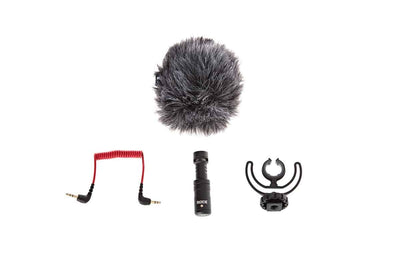 Gimbal Accessories - RODE VideoMicro On-Camera Hypercardioid Microphone With OSMO 360 Quick Release Mic Mount