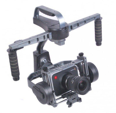 CAME-8000 3-Axis Camera Gimbal (Tool-less) + Carrying Case + Stand Package - OmniView Tech  - 1