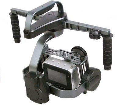 CAME-8000 3-Axis Camera Gimbal (Tool-less) + Carrying Case + Stand Package - OmniView Tech  - 3