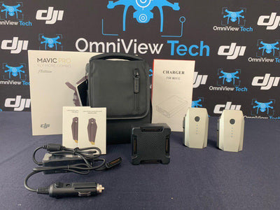Mavic Pro Platinum + Fly More Kit - Certified Pre-Owned