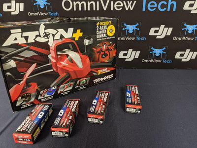 Traxxis Aton + plus 4 batteries = AS IS