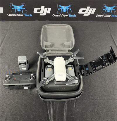 DJI Arctic White Spark With Accessories - Certified Pre-Owned