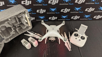 Phantom 4 Standard With Case Plus Extra Batteries - Certified Pre-Owned