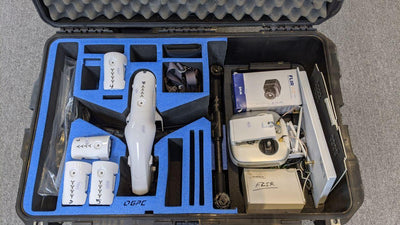 Inspire 1 V2.0 with FLIR Thermal and X5 Camera & Lens plus Case - Certified Pre-Owned