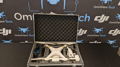 Phantom 3 Professional With Extra Batteries and Hard Case - Certified Pre-Owned