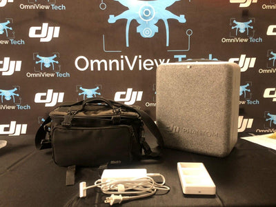 Phantom 4 With Carrying Case Plus Accessories - Certified Pre-Owned