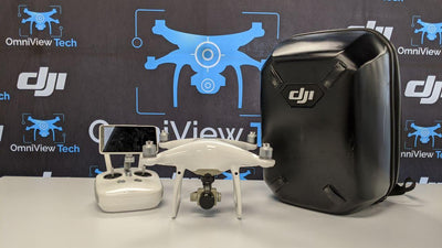 Phantom 4 Advanced+ and DJI Backpack - Certified Pre-Owned