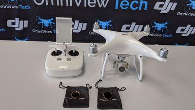 Phantom 4 Standard with 2 Extra Batteries and Accessories - Certified Pre-Owned
