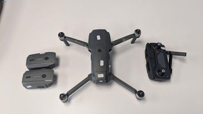 DJI MAVIC PRO with 3 batteries & Accessories- Certified Pre - Owned