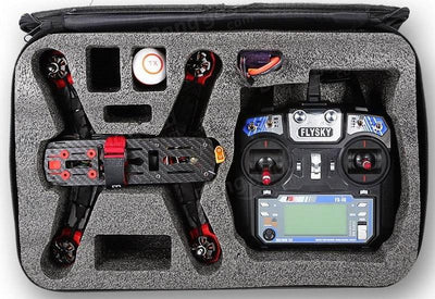 Racing Drone - Falcon 250 Ready-To-Fly FPV Racing Drone With Transmitter Package RTF