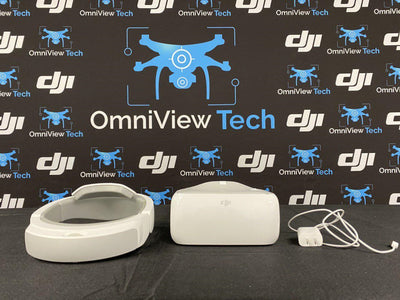 DJI Goggles and Charger- Certified Pre-Owned