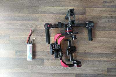 V2 Handheld 3-Axis Camera Gimbal (semi-tooless) - Certified Pre-Owned