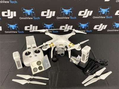 DJI Phantom 3 Professional + ND filters and Extra Battery - Certified Pre-Owned