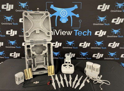 Phantom 4 With Case Plus Accessories - Certified Pre-Owned