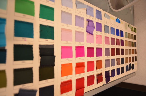 144 Colours of pure Silk