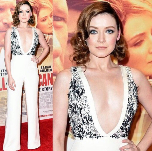 SARAH BOLGER in our SOPHIA JUMPSUIT @ at the premiere My All American
