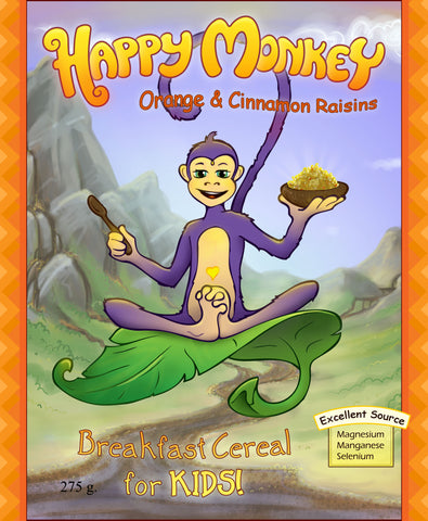 The Happy Monkey - Original Superfood Cereal for Kids