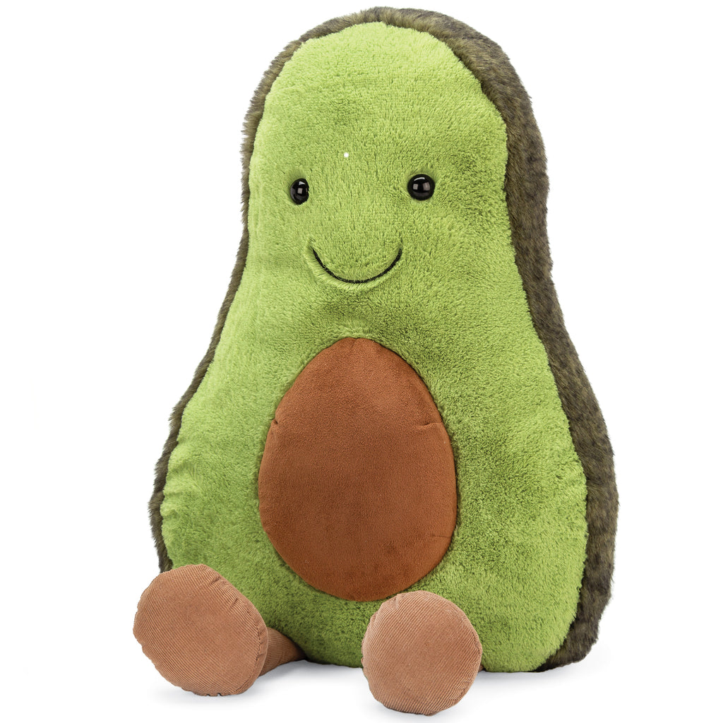 Amuseables Avocado Plush, Huge, 23 inches