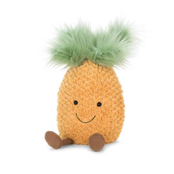 Amuseables Pineapple Plush, Medium, 12 inches