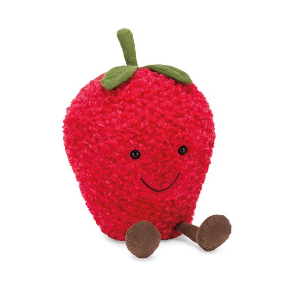 Amuseables Strawberry Plush, Medium, 12 inches
