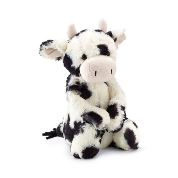 Bashful Cow Stuffed Animal, Medium, 12 inches