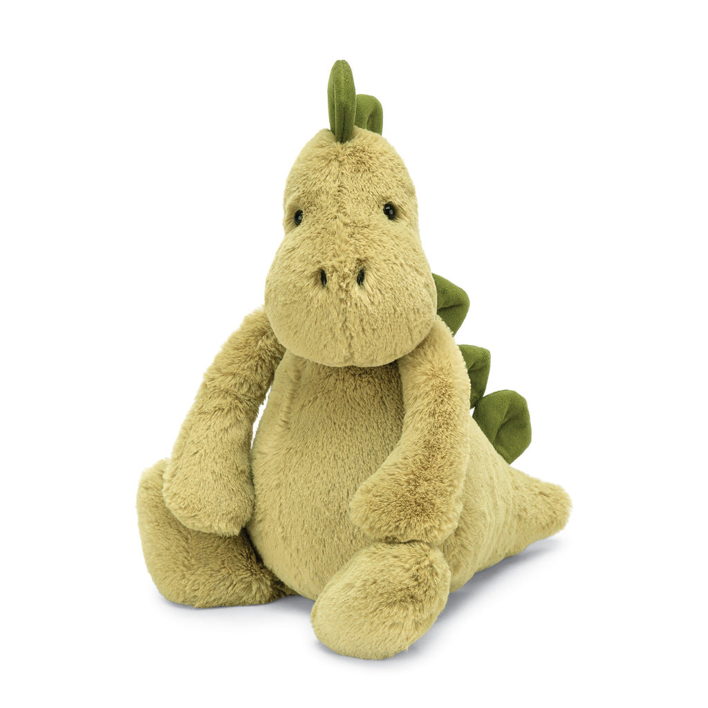 Bashful Dinosaur Stuffed Animal, Medium, 12 inches