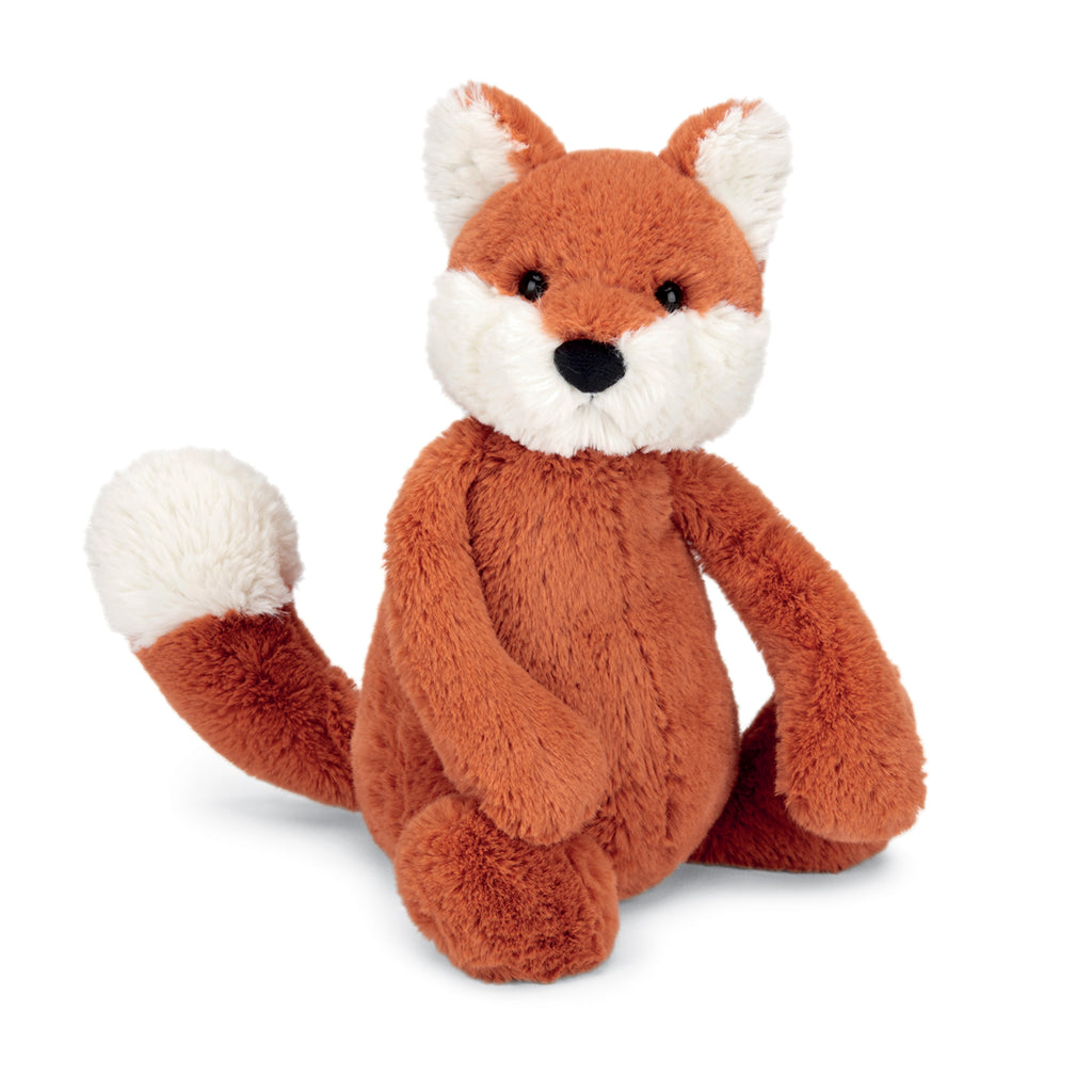 Bashful Fox Cub Stuffed Animal