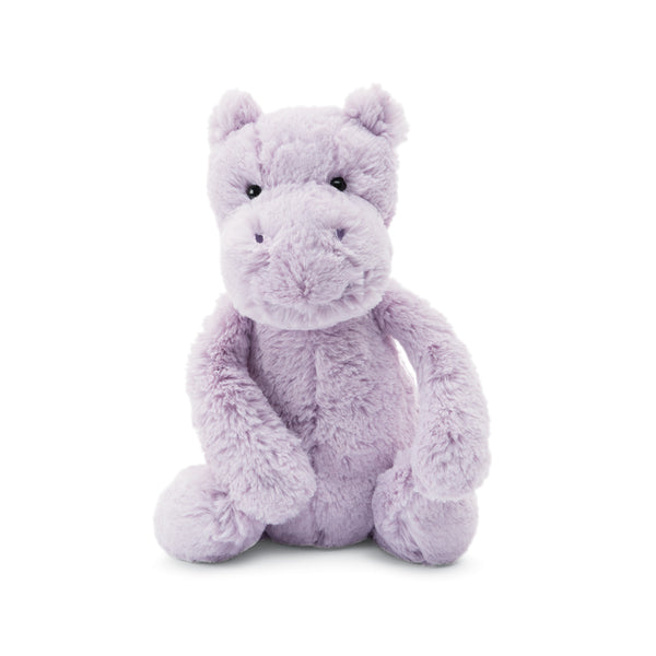 Bashful Lilac Hippo Stuffed Animal, Medium, 12 inches