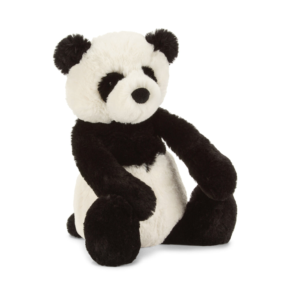 Bashful Panda Cub Stuffed Animal, Medium, 12 inches