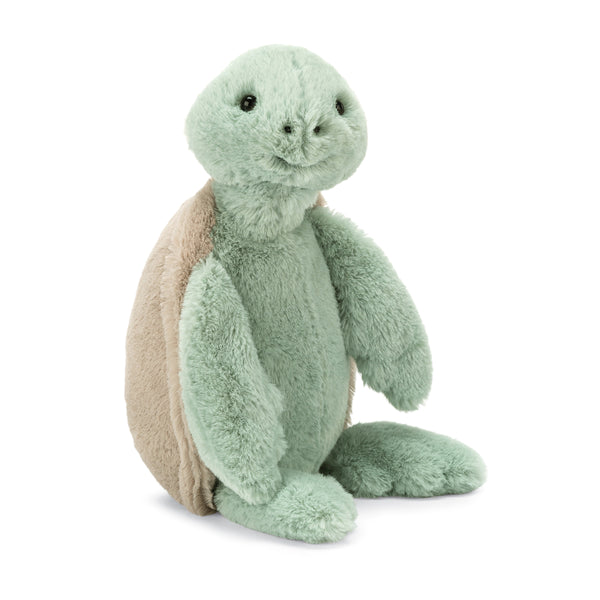 Bashful Turtle Stuffed Animal, Medium, 12 inches