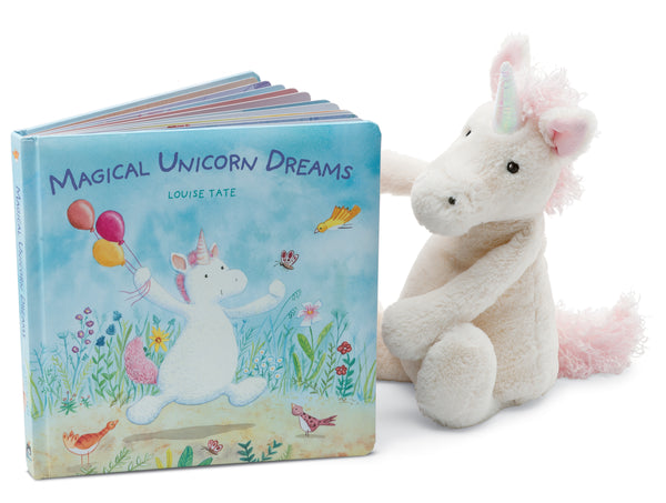 Magical Unicorn Dreams Board Book and Bashful Unicorn