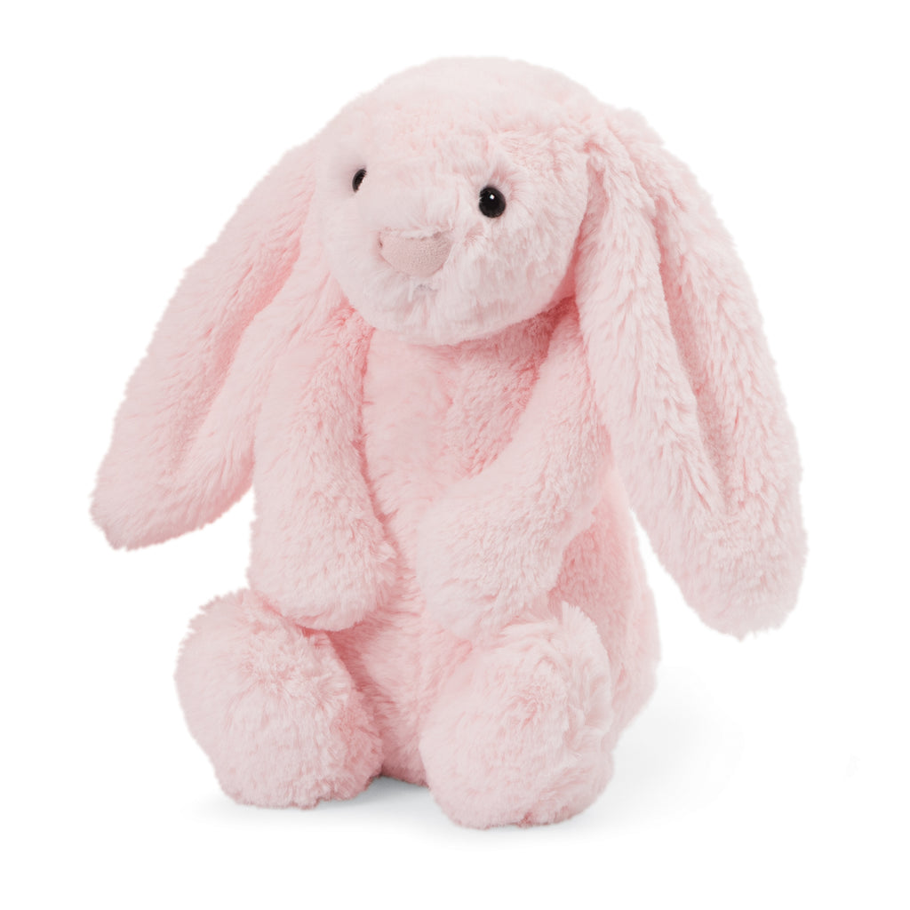 Bashful Pink Bunny Stuffed Animal, Medium, 12 inches