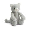 Bashful Grey Kitty Stuffed Animal
