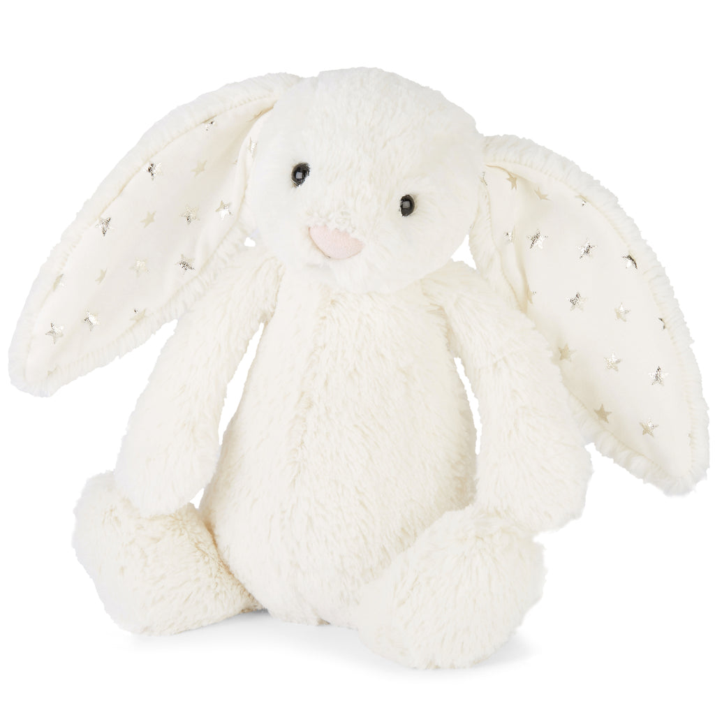 Bashful Twinkle Bunny Stuffed Animal, Small, 7 inches