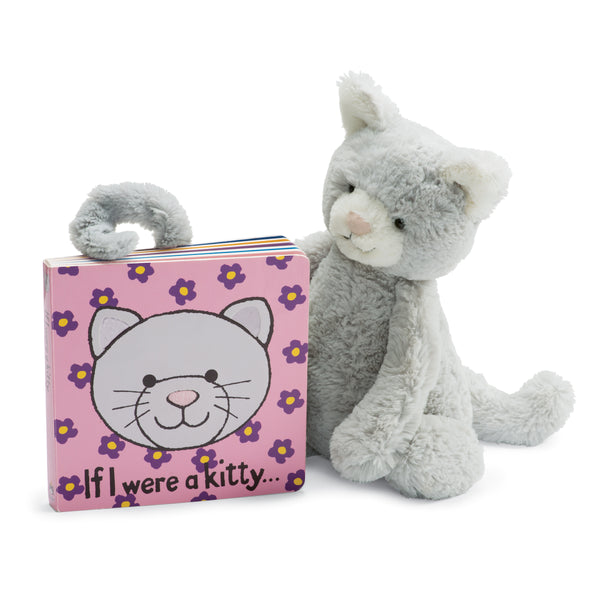 If I Were a Kitty Board Book and Bashful Grey Kitty