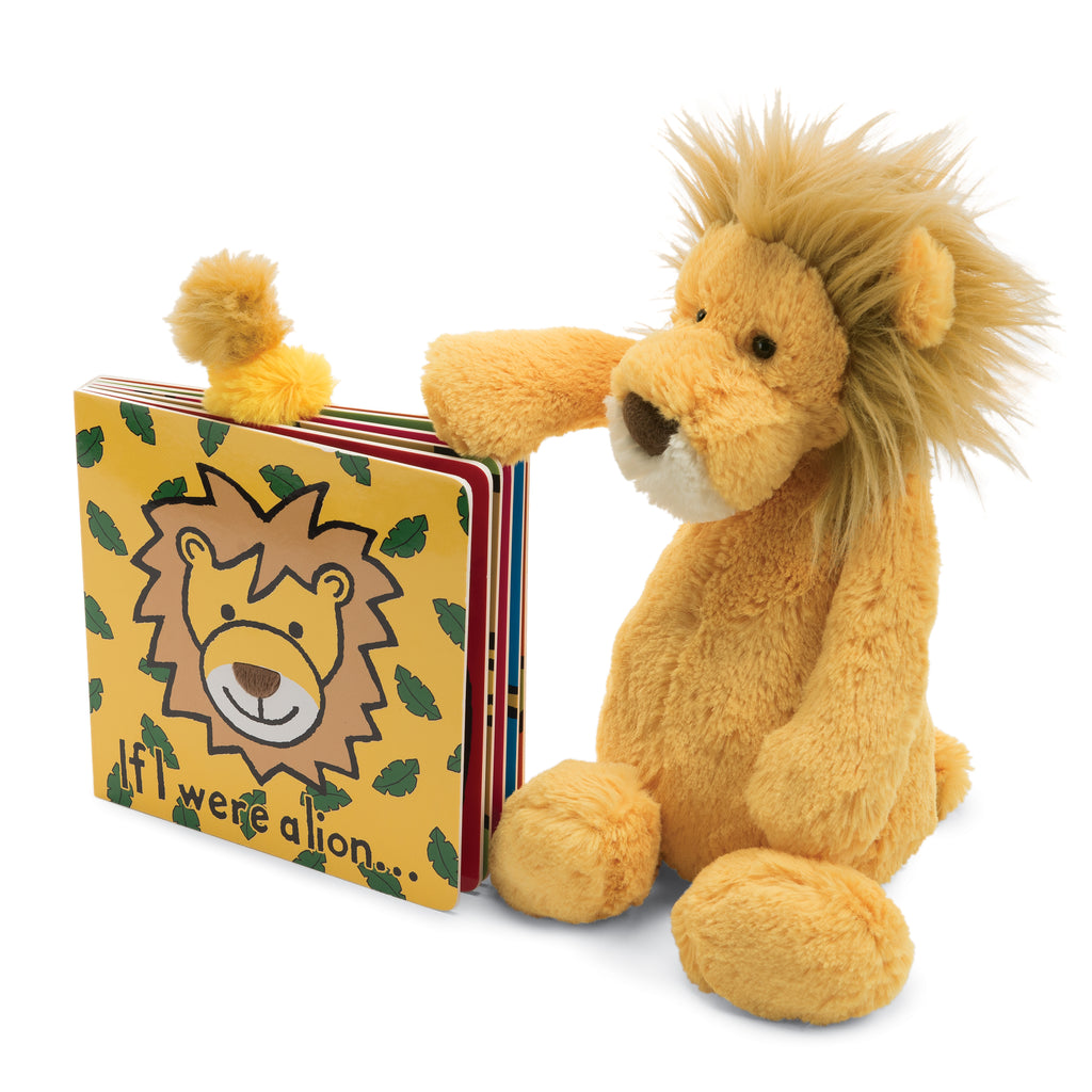 If I were a Lion Board Book and Bashful Lion