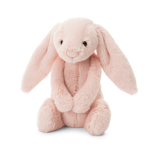 Bashful Blush Bunny Chime Rattle Stuffed Animal