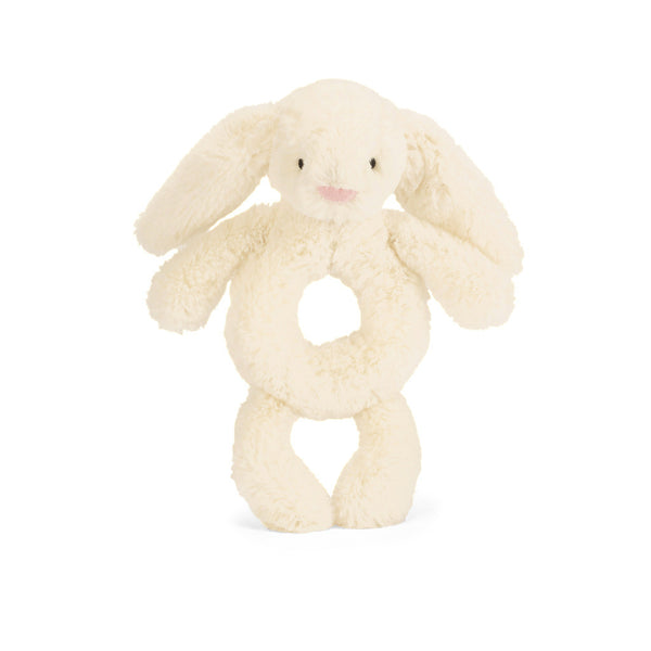 Bashful Bunny Cream Grabber - 6 inches