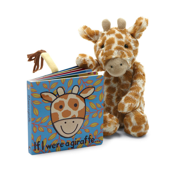 If I were a Giraffe Baby Touch and Feel Book and Bashful Giraffe Stuffed Animal