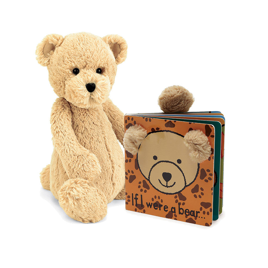 If I were a Bear Baby Touch and Feel Book and Bashful Bear Stuffed Animal