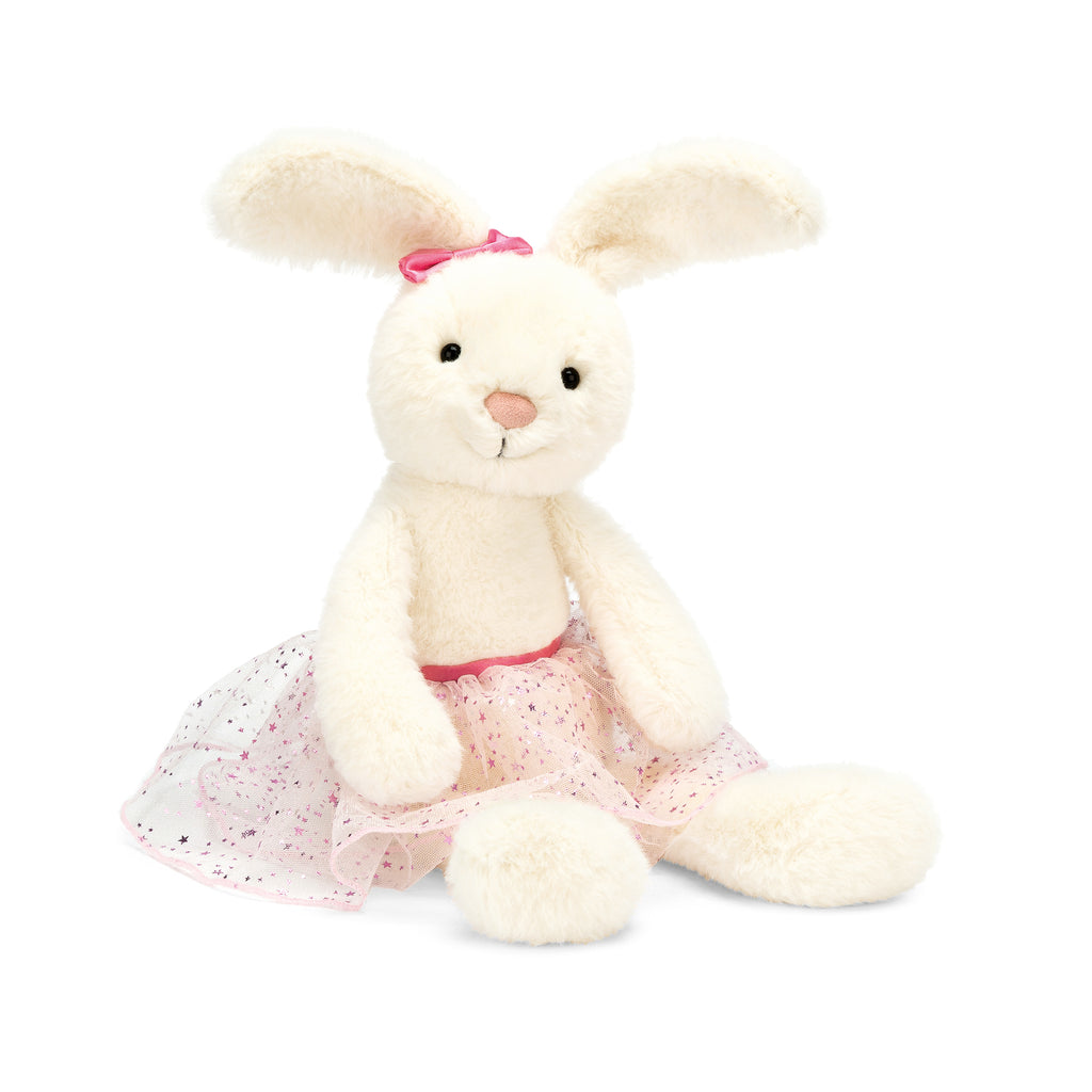 Belle Ballet Bunny Stuffed Animal, Large, 15 inches