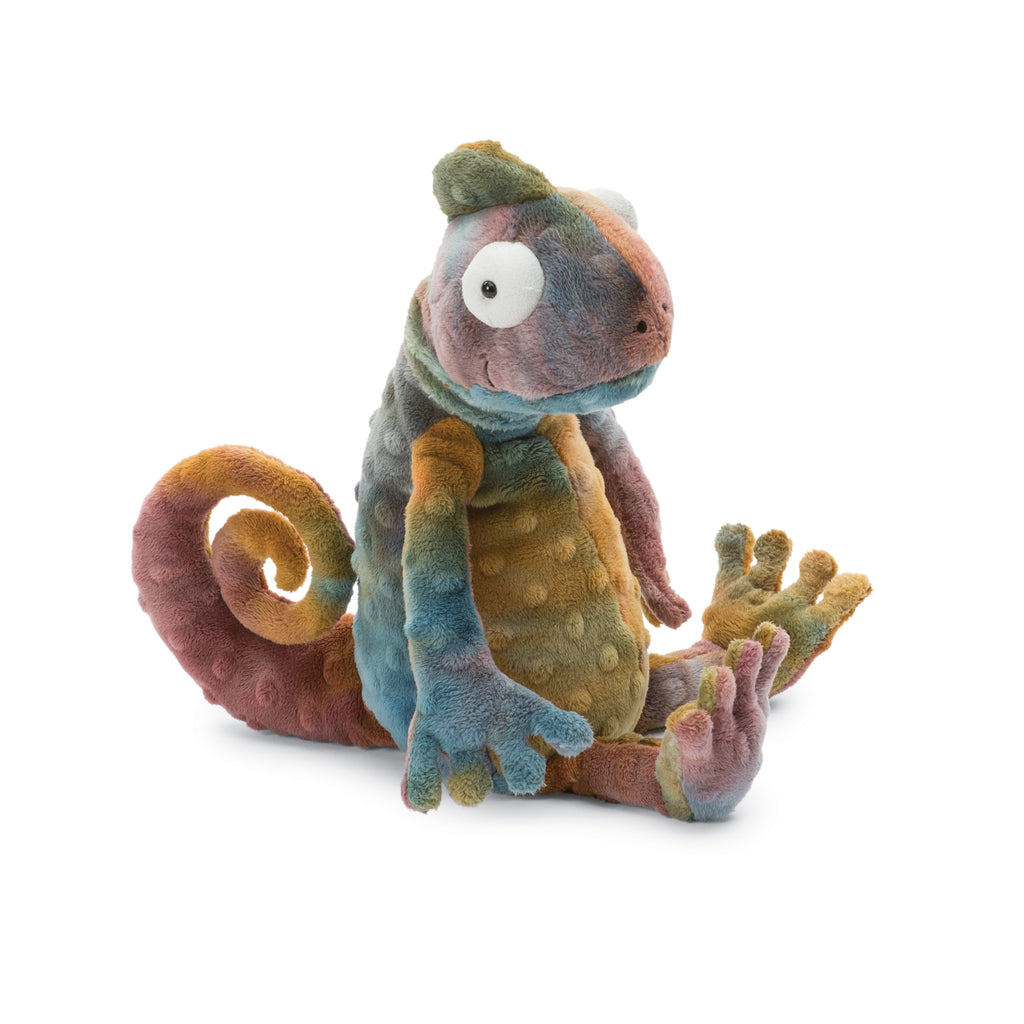 Colin Chameleon Stuffed Animal, 13 inches