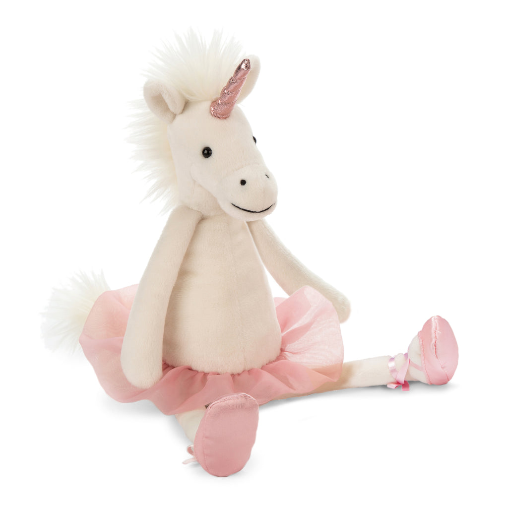 Dancing Darcey Unicorn Stuffed Animal, Medium, 13 inches