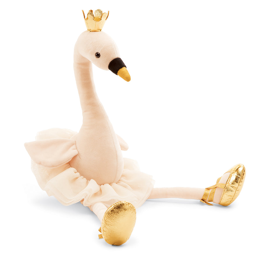 Fancy Swan Stuffed Animal, Large, 23 inches